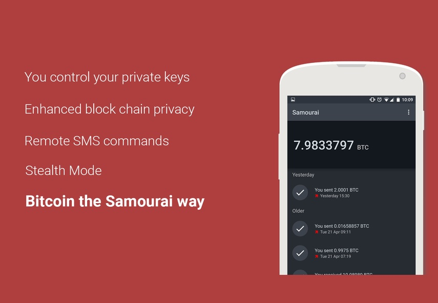 Bitcoin Wallet Spotlight: Samourai Wallet