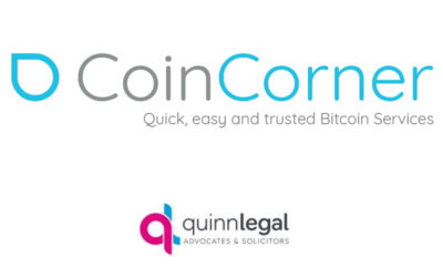 CoinCorner Supports Quinn Legal To Become First Isle Of Man Law Firm To Accept Bitcoin Payments