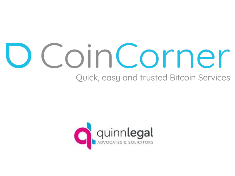 Fintoism CoinCorner Quinn Legal Bitcoin