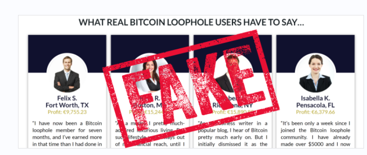 Bitcoin Loophole Scam